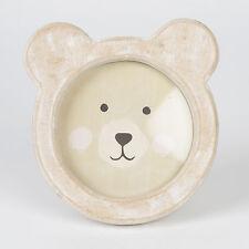 Forma de oso de madera foto marco Rústico pié by Sass & Belle
