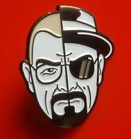 Breaking Bad Pin Duality Walter White Heisenberg Enamel Metal Brooch Badge Lapel