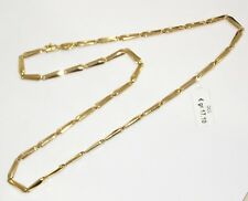 COLLANA ORO giallo 18 KT CHIMENTO GOLD NECKLACE Goldkette D'OR COLLIER