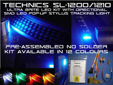 KEIN LÖTEN Technics SL-1200 & 1210 LED Set Mit Direktionell SMD LED Nadel Lampe