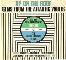 UP ON THE ROOF GEMS FROM THE ATLANTIC VAULTS 1961 - 1962 - 3 CD BOX SET