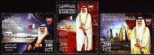 Bahrain 2005 ** Mi.826/28 Nationalfeiertag National Day Palast Palace