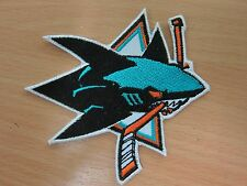 NHL San Jose Sharks Logo embroidered Iron on Patch High Quality Shirt Bag Cap