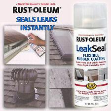 LeakSeal Rust-Oleum Clear Leak Seal Rubberised Protective Coating Spray Paint