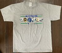 Vintage Vancouver Canucks NHL Collectors Edition Six Jersey T Shirt - Large