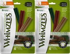 New listing (2 Pack) Whimzees Stix Grain-Free Dental Dog Treats, 14 LargeEach