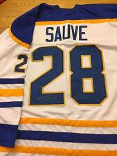 Buffalo Sabres Bob Sauve Signed Jersey W/COA