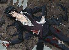 Black Butler Wall Scroll Poster Anime Kuroshitsuji NEW