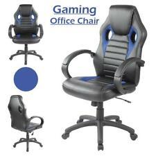 Sedia ufficio esecutivo SPORT RACING GIOCO girevole pelle sedia da scrivania computer