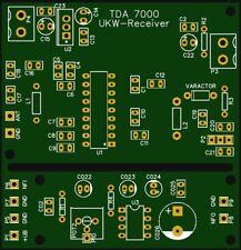 Empfänger BAUSATZ TDA7000 / LM386 (elektronische Bauteile Receiver Transceiver)