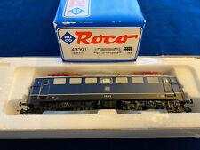 Roco HO E-Lok BR E 10 DB Nr.:43391 OVP TOP Vitrinenmodell mit Wechsellicht