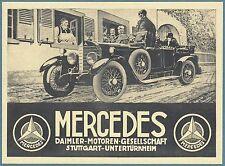 Daimler & Mercedes Auto Advertising