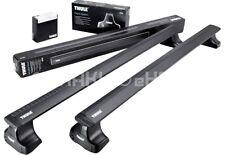 Thule Roof Rack Roof Bars WingBar Black +754 Skoda Fabia Hatchback 2015-
