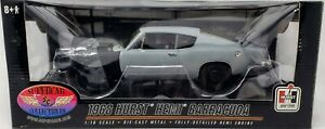 1968 Hurst Hemi Barracuda 1:18 Factory SuperSport SC Collectibles Mint in Box