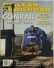 Railfan & Railroad April 2016 Conrail Off the Beaten Path FREE SHIPPING sb