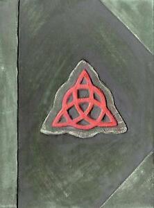 Charmed Book of Shadows Replica by Julia Caroline Scott, Yirka Marjorie Rod #ws9