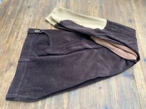 TOGGI LADIES BREECHES - SIZE 28 - CHOCOLATE BROWN CORD -   EX DISPLAY - f
