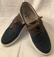 Men,s ABERCROMBIE KIDS Preowned Blue Leather shoes 6 M China