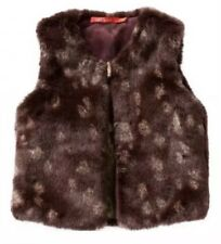 "- OILILY - Child's Fur, Reversible ""Cafur"" GILET. Size 104, 3-4 Years. BNWT."