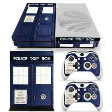 Xbox One S Console, Controller and Kinect Skin Set - Dr Who
