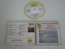 RAVEL+DEBUSSY/BOLERO+LA MER, KARAJAN-ED.(DEUTSCHE GRAMMOPHON 423 217-2) CD ALBUM