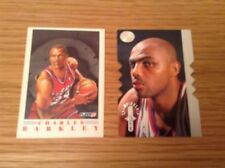 2 Charles Barkley Nba Baloncesto Trading Cards