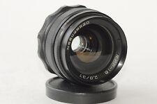 MIR-1B Black 37mm f2.8 for Zenit SLR cameras M42