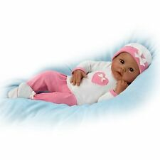 So Truly Real JAYLA Ashton Drake Baby Doll 19''  Breathes And Has Heartbeat