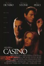 "CASINO Movie Poster [Licensed-New-USA] 27x40"" Theater Size (Robert De Niro) 1995"