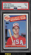 1985 Topps Mark McGwire ROOKIE RC #401 PSA 7 NRMT