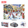 Kid 1000 Piece Jigsaw Puzzle Winter Holiday Snowy Home Jigsaws Puzzles Game Xmas