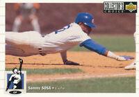 Sammy Sosa 1994 Upper Deck Collector's #263 Chicago Cubs baseball card