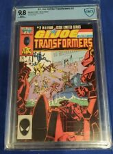 G.I. Joe and the Transformers, #2 CBCS 9.8 white pages {Marvel, '87} not cgc