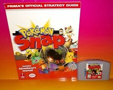 Pokémon Snap Game & Strategy Guide - Nintendo 64 N64 Game - Rare & Tested