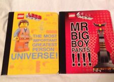 The LEGO Movie Composition Notebooks Lot Of 2 School Supplies Journal Big Boy