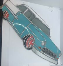 Vintage Car Stained Glass - 1955 Chevelle