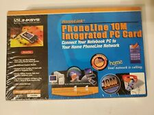 Linksys Homelink Phoneline 10M Integrated PC  Card  2001