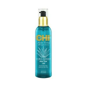 CHI Aloe Vera Agave Oil 3 oz / 89 ml fortifies weak strands reduces breakage