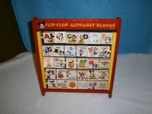 Disney Mickey Mouse Flip and Flop Alphabet Blocks