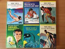 Lot 6 MICHEL - Bibliothèque Verte Georges Bayard - Tous différents
