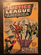 Justice League of America #4 (Apr-May 1961, DC) VG- CONDITION!