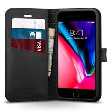 iPhone 8 Plus/8, 7 Plus/7 Case,Genuine SPIGEN Flip View Wallet S Cover for Apple
