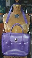 Kate Spade Bond Street Florence Handbag Leather Purple Hydrangea **GORGEOUS**