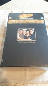 Seinfeld - Series 1-9 - Complete (DVD, 2009, 33-Disc Set, Box Set) Super rare