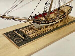 Model Expo Model Shipways MS2160 Armed Virginia Sloop 1:48 Scale