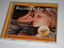 Ballads of the 90 's limited edition CD scorpions ten sharp Haddaway Faith no mo