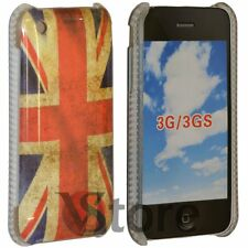 Cover Custodia Per iPhone 3G/3GS Bandiera Inghilterra Inglese Retro + Pellicola