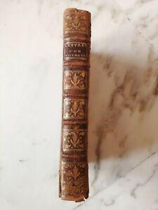 Rare Ouvrage Lettres D'un Voyageur Anglois 1779 Londres EO Martin Sherlock