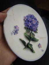 "Approx. 6"" 'SHUDEHILL' Decorative 3D Flower on DISH PLATE > Gr8 GIFT IDEA"