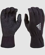 NEW $85 Adidas Men's Black Fleece ClimaWarm Touch Screen Winter Gloves Size L/XL